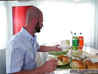 German retro porn xxx Alyssa Gets Her Way With Daddy's