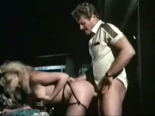 Retro porn movie with outdoor fucking