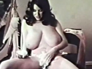Classic PornBusty Brunette..