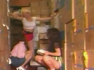 Christy Canyon  Hot 3 Way Lesbian Sex