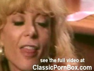 Nina Hartley fucks long haired dude