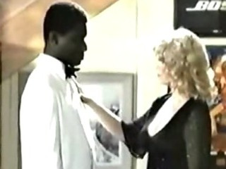 Retro Interracial Blonde..