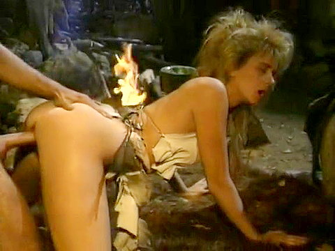 1980's porn video of savage..