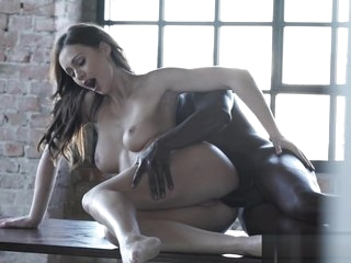 Foreplay loving babe assfucked gently