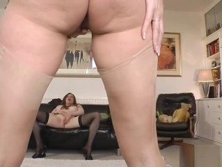 British milf pussylicking her lesbian love