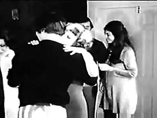 xxx movies First Party Scene, Four on the Floor (1969 vintage softcore)