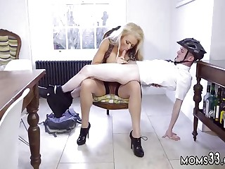 Kinky mom and friend's friend blonde milf vintage blowjob